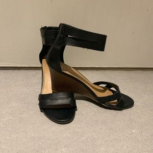 Wedge sandal heels